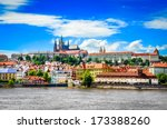 View Of Colorful Old Town And...