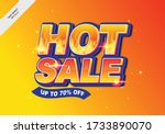 editable text effect hot sale.... | Shutterstock .eps vector #1733890070