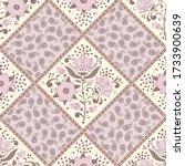 seamless patchwork pattern...   Shutterstock .eps vector #1733900639