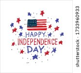 fourth of july independence day ... | Shutterstock .eps vector #1733960933