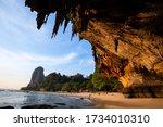 Reef Rock Beach Under The Larg...