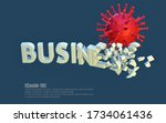 destruction  negative impact of ... | Shutterstock . vector #1734061436