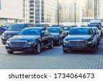 Black Mercedes Benz Three Cars...