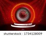 vector illustration gambling...   Shutterstock .eps vector #1734128009