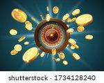 vector illustration gambling...   Shutterstock .eps vector #1734128240