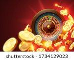 vector illustration gambling...   Shutterstock .eps vector #1734129023