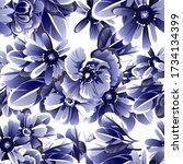 abstract elegance seamless...   Shutterstock . vector #1734134399