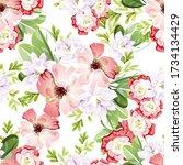 abstract elegance seamless...   Shutterstock . vector #1734134429