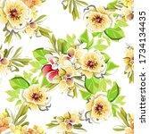 abstract elegance seamless...   Shutterstock . vector #1734134435