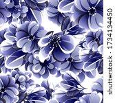 abstract elegance seamless...   Shutterstock . vector #1734134450