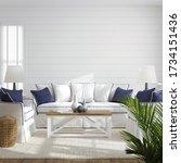 Hampton Style Living Room...