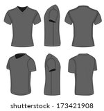 V Neck T Shirt Free Vector Art - (1448 Free Downloads)