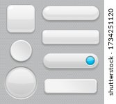 white web buttons with blue...