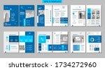brochure creative design.... | Shutterstock .eps vector #1734272960