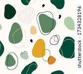 abstract seamless pattern... | Shutterstock .eps vector #1734328196