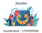 jeweler concept illustration....   Shutterstock .eps vector #1734359060