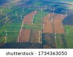 Fields With Wind Turbines...
