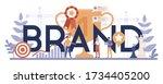 brand typographic header...   Shutterstock .eps vector #1734405200