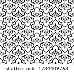 flower geometric pattern.... | Shutterstock .eps vector #1734409763