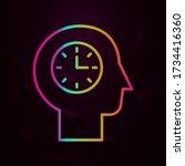 human  clock in mind nolan icon ...