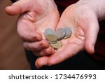 Russian Coins In The Hands Of...