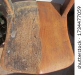 Seat Of A Half Restored Antique ...