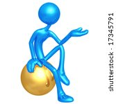 presenter | Shutterstock . vector #17345791