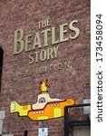 Постер, плакат: The Beatles Story opened