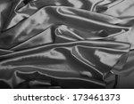 silver silk background texture | Shutterstock . vector #173461373