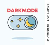 darkmode outline colored switch ...