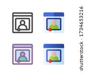 streaming icon pack isolated on ...