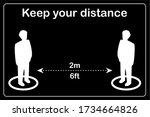 vector illustration of social...   Shutterstock .eps vector #1734664826
