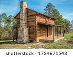 A Restored Authentic Log Cabin...
