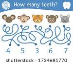 Dental Care Maze For Children....