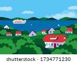 Summer Rural Green Valley...