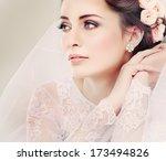 Portrait Of Beautiful Bride....