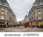london sep 20 view of oxford...   Shutterstock . vector #173499374