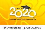 class of 2020. congrats...   Shutterstock .eps vector #1735002989
