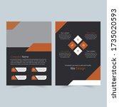 business minimalist office...   Shutterstock .eps vector #1735020593
