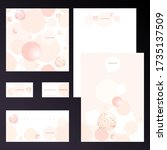 vector design templates for...   Shutterstock .eps vector #1735137509