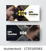 presentation of design of a... | Shutterstock .eps vector #1735185083