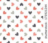 seamless geometric pattern.... | Shutterstock .eps vector #173521244