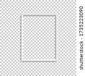 vertical white blank picture... | Shutterstock .eps vector #1735223090