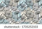Dandelion Pattern. Hand Drawn...