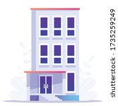 home loan concept  rent  ... | Shutterstock .eps vector #1735259249