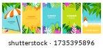 summer  holiday  vacation... | Shutterstock .eps vector #1735395896