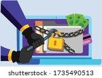 a vector illustration artwork...   Shutterstock .eps vector #1735490513