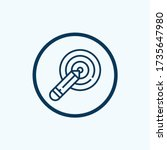 strategy icon vector from... | Shutterstock .eps vector #1735647980