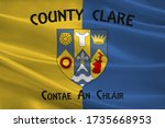 flag of county clare is a... | Shutterstock . vector #1735668953