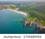 Aerial Photo Of Mouth Of Velek...